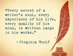 Virginia Woolf writing quote
