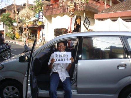 Taxi photo Ubud