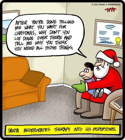 Santa minimalism